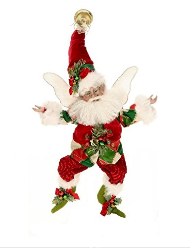 Mark Roberts Fairies, Christmas Stocking Fairy, Small 10 Inches 51-42402