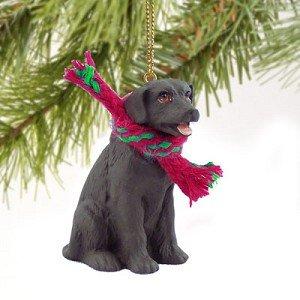 Labrador Retreiver Miniature Dog Ornament – Chocolate