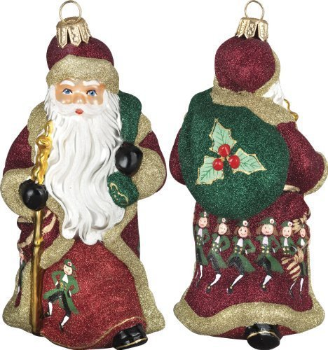 Glitterazzi 12 Days of Christmas, Ten Lords A Leaping Ornament by Joy to the World Collectibles