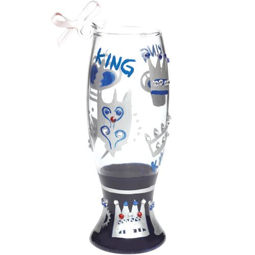 Lolita Mini Pilsner King Ornament – Wine Martini New Love ORN6-5565K