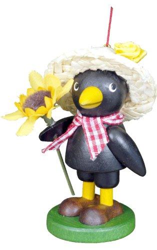 "13-0807 – Christian Ulbricht Ornament – Farmer Crow – 5″""H x 3″""W x 2.25″""D"