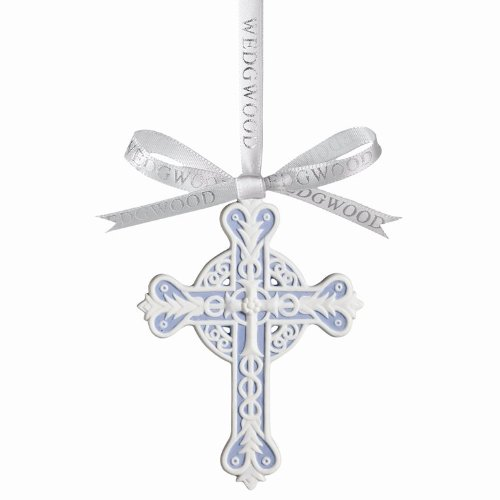 Wedgwood Traditional Figural Cross Ornament