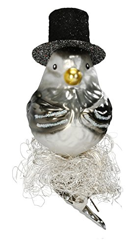 """""""Mr."""", #1-030-15, from the 2015 Bird Haus Collection by Inge-Glas Manufaktur; Gift Box Included"""