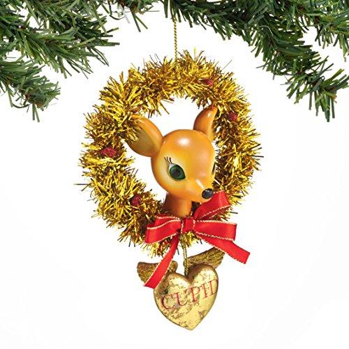 Department 56 Reindeer Tales Cupid Wreath Ornament