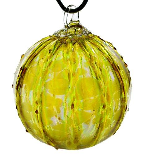 Glass Eye Studio Hand Blown Glass Ornament – Gold Luster