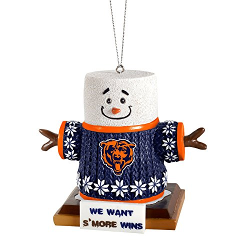 2015 NFL Football Team Logo Smores Holiday Tree Ornament – Pick Team (Chicago Bears)