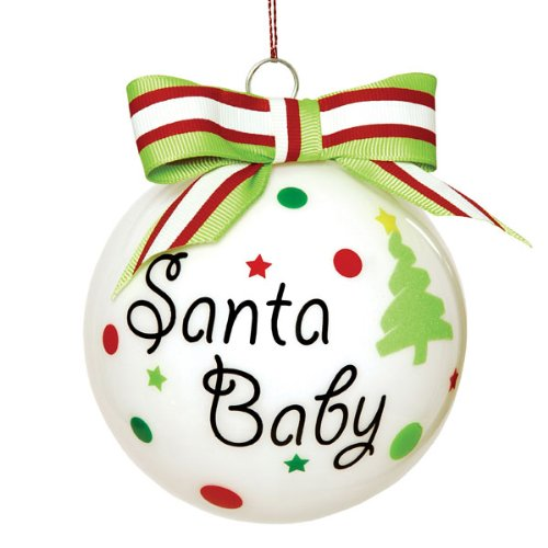 Santa Baby Christmas Ornament