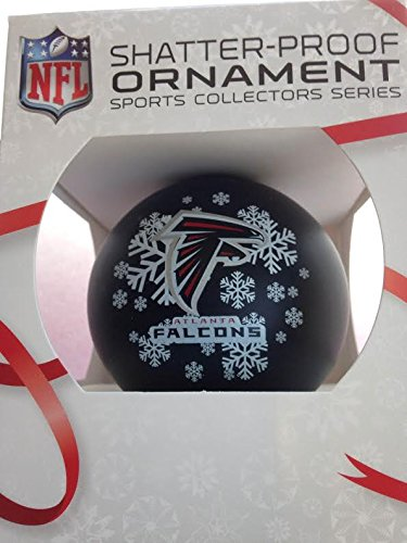 NFL Atlanta Falcons Shatterproof Ball Ornament, 3.125″, Red