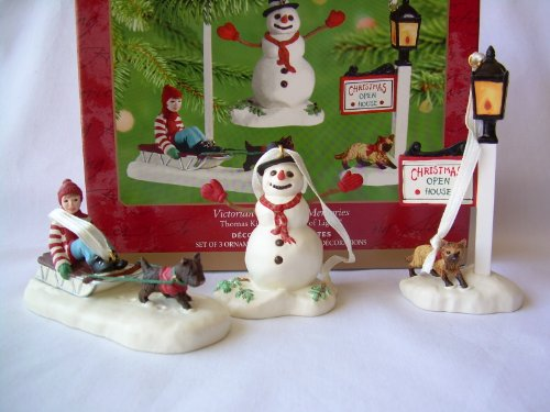 2001 Hallmark Ornament Victorian Christmas Memories Thomas Kinkade, Painter Of Light