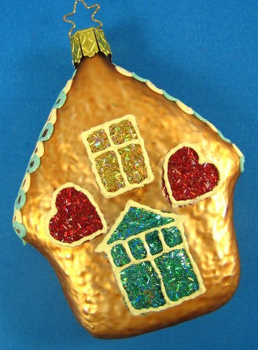 Inge-Glas Gingerbread House Ornament Made in Germany