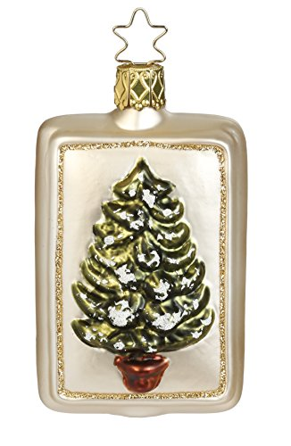 Vintage Tannenbaum, #1-042-15, from the 2015 Vintage Christmas Collection by Inge-Glas Manufaktur; Gift Box Included
