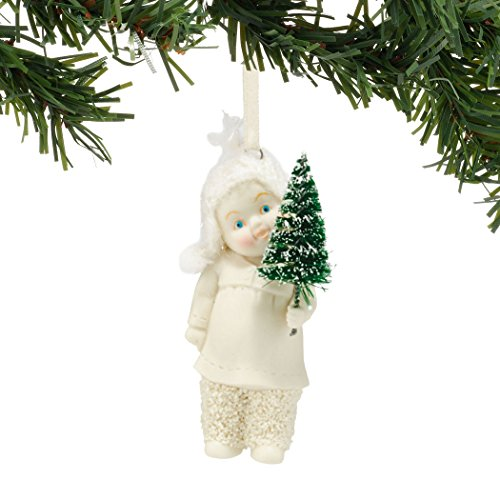 Snowbabies Department 56 Dream Collection the Littlest Tree Ornament, 2.95″
