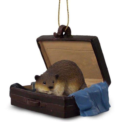 Beaver Traveling Companion Ornament