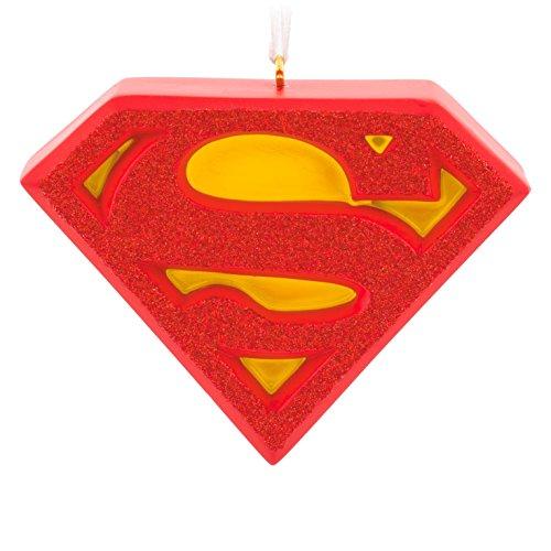 Hallmark DC Comics Superman Shield Christmas Ornament