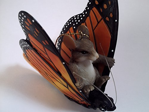 Charming Tails Maxine's Butterfly Ride Ornament
