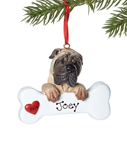 Shar Pei Personalized Ornament