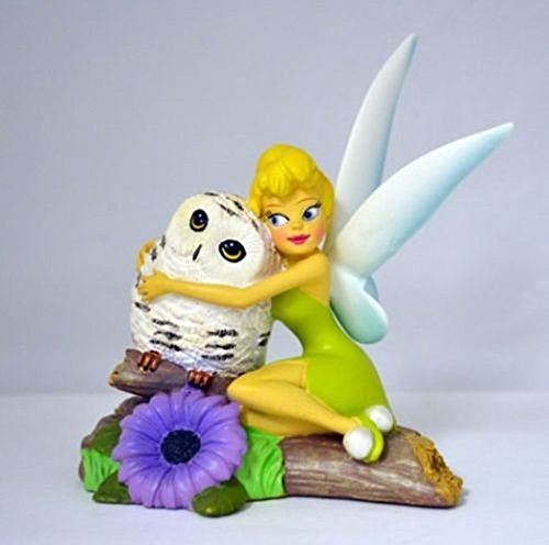 Disney Tinkerbell I'll Owlways Be By Your Side Bradford Exchange Figurine