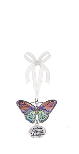 Ganz Home Decor Christmas / Spring Blissful Journey Butterfly Ornament (You have Friends in high places EA13538)
