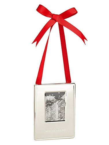 Kate Spade New York 'Silver Street – Paint the Town Red' Frame Ornament