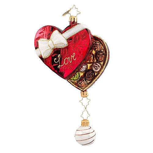 Box of Love Ornament by Christopher Radko
