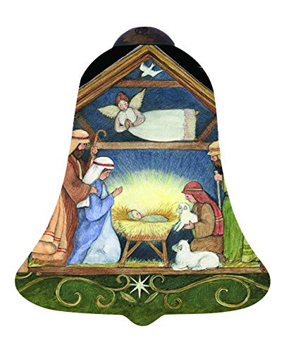 Ne'Qwa Away in a Manger Ornament