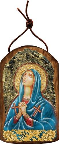 G. Debrekht Maria Magdalena Icon Wooden Ornament