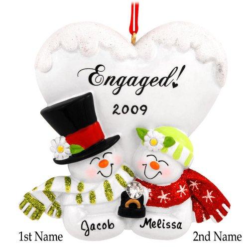 Snowman Engagement