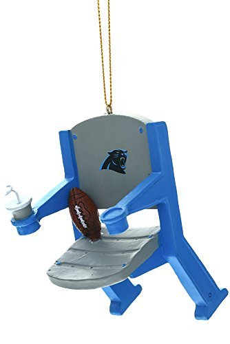 Carolina Panthers Stadium Chair Ornament by Fans With Pride