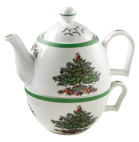 Spode Christmas Cheer Tea-For-One