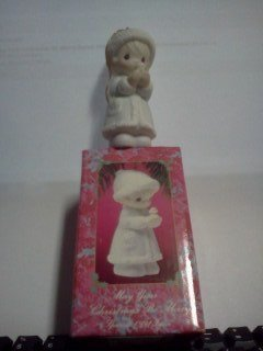 May Your Christmas Be Merry Dated 1991 Precious Moments Ornament #524174
