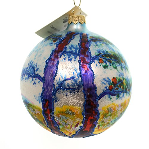 Christina's World MAGICAL ROOTS Glass Ornament Ball Tree Art265