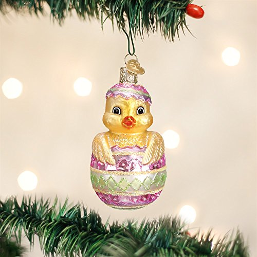 Old World Christmas Easter Chick Glass Blown Ornament