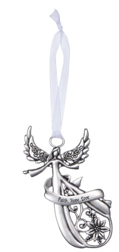 Angel Ornament by Ganz – Faith Hope Love