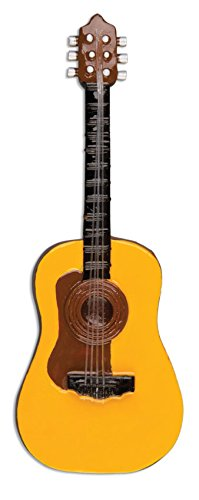 Acoustic Guitar Personalized Christmas Tree Ornament