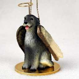 Irish Wolfhound Angel Dog Ornament