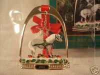 Breyer 2001 Stirrup Ornament