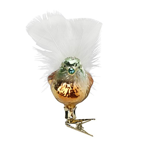 Marian, #1-222-15, from the 2015 Bird Haus Collection by Inge-Glas Manufaktur; Gift Box Included