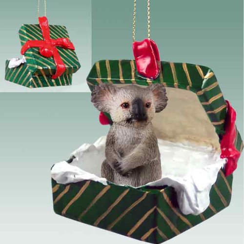 Koala Gift Box Christmas Ornament – DELIGHTFUL!