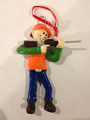 Hunter with Gun Ornament