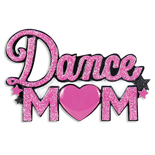 Dance Mom Personalized Christmas Tree Ornament