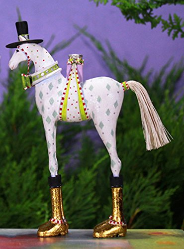6.75″ Patience Brewster Krinkles Arthur Horse Decorative Christmas Ornament