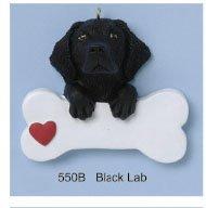 Personalized Pet Ornaments Black Labrador