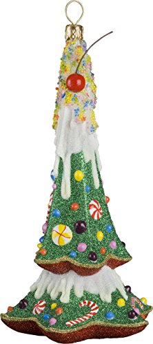 Glitterazzi Gnome Sweet Gnome Tree Ornament by Joy to the World