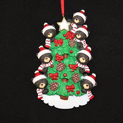 Bear Tree/7 Personalized Ornament