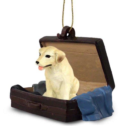 Labrador Retriever Yellow Traveling Companion Ornament