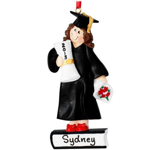 Graduate Girl Ornament