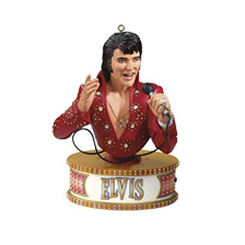 Carlton Elvis Presley Portrait of a Legend Icon Christmas Ornament #CXOR-086R
