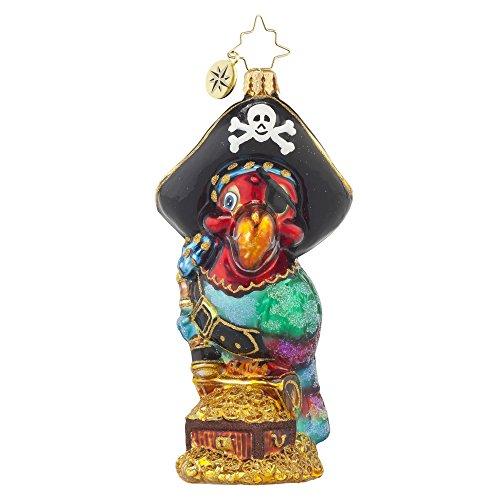 Christopher Radko Polly Pirate Christmas Ornament