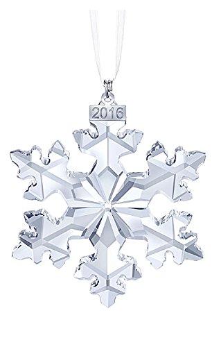 Swarovski 2016 Annual Edition Ornament, Snowflake, 25th Anniversary Celebration