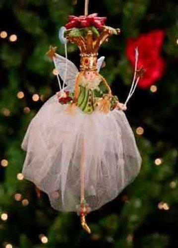 Krinkles Poinsettia Princess Ornament